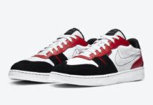 Nike Squash-Type White University Red Black CJ1640-103 Release Date Info