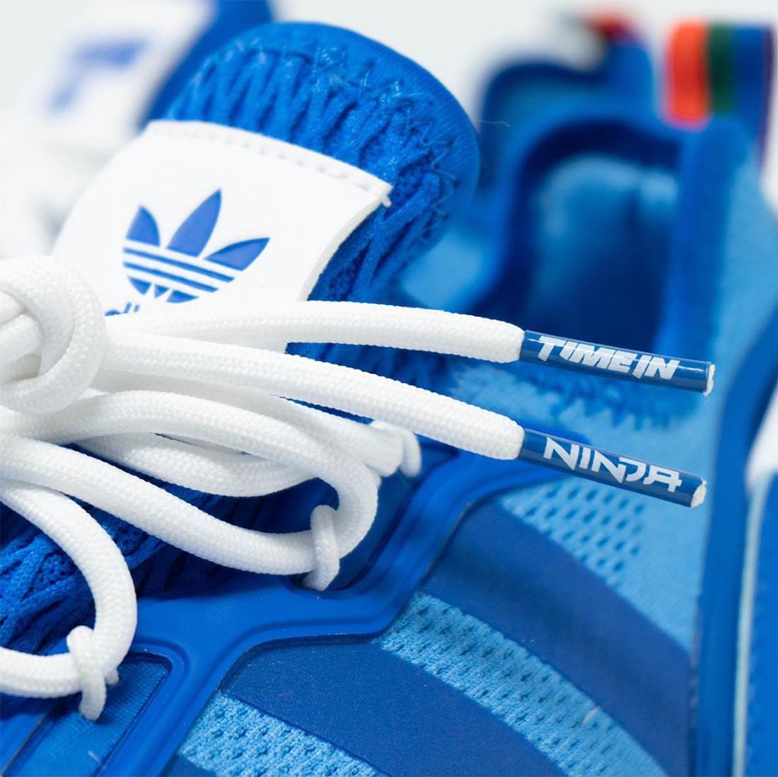 Ninja adidas ZX 2K Boost Hyper Blue FZ1883 Release Date Info