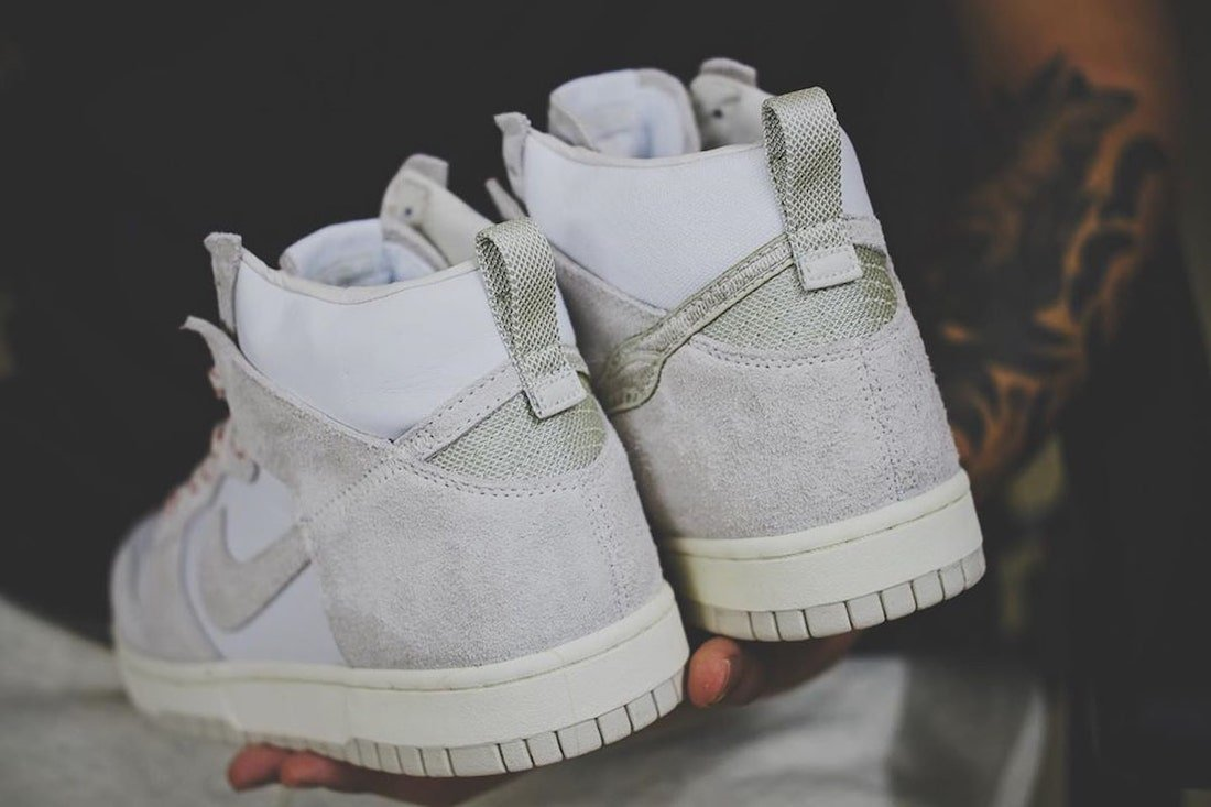 Notre Nike Dunk High Light Orewood Brown White Release Date