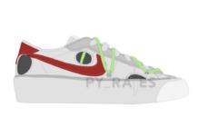 Off-White Nike Blazer Low White University Red Release Date Info