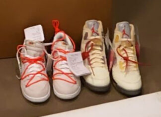 Off-White Nike Dunk Low White Release Date Info