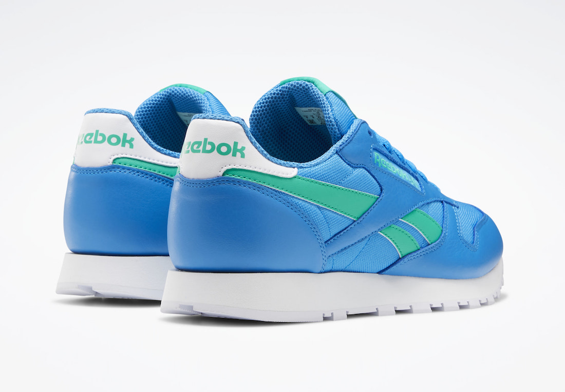 Reebok Classic Leather Horizon Blue Court Green FX2277 Release Date Info