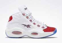 Reebok Question Mid Suede Red Toe 2020 FY1018 Release Date Info