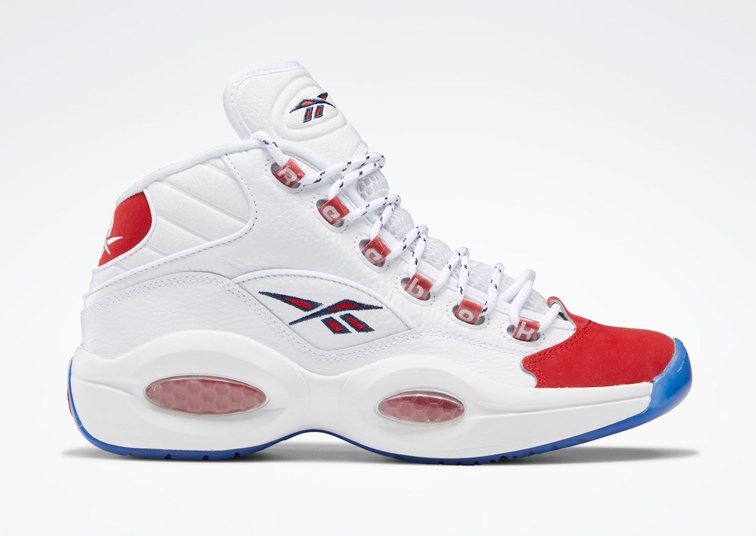 erupción Cambiable brumoso  Reebok Question Mid Suede Red Toe 2020 FY1018 Release Date Info |  SneakerFiles