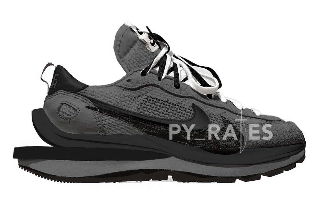 sacai Nike VaporWaffle Black Off Noir Release Date Info