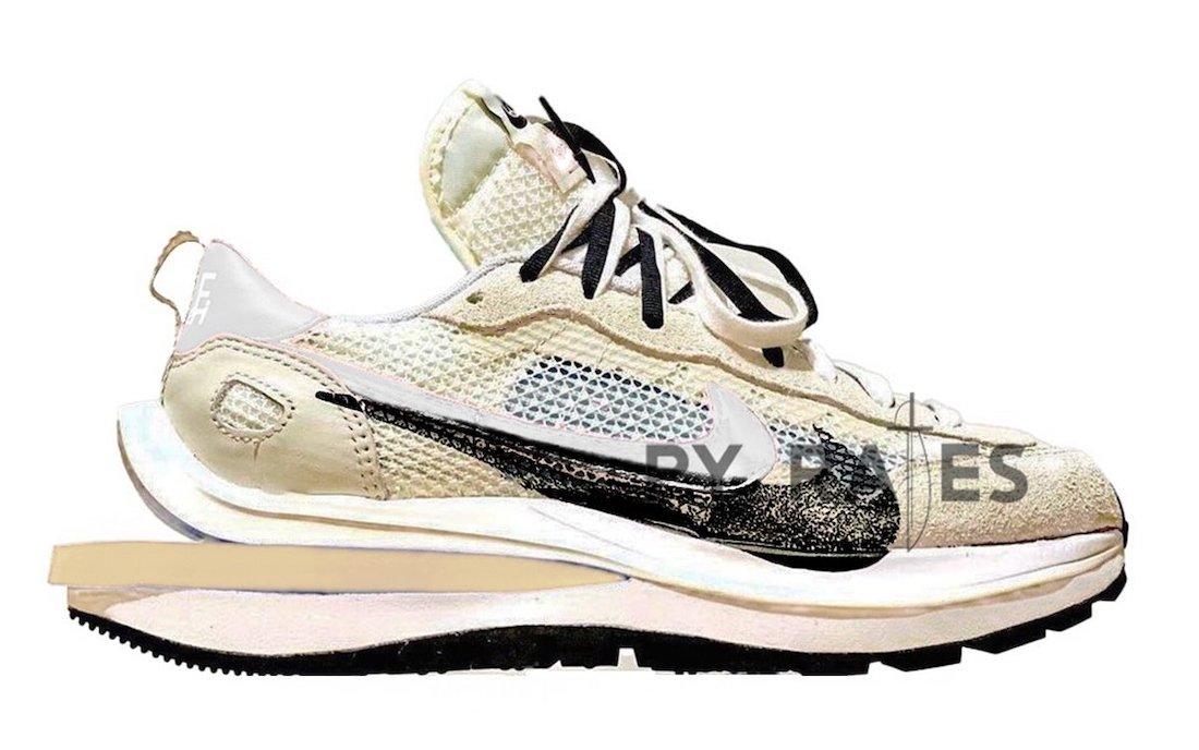 sacai Nike VaporWaffle White Sail Release Date Info