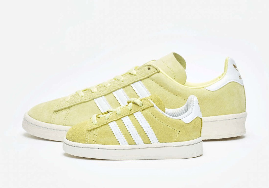 SNS adidas Campus 80s Lemonade FW6759 FY8430 Release Date Info
