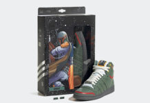 Star Wars adidas Top Ten Hi Boba Fett FZ3465 Release Date Info