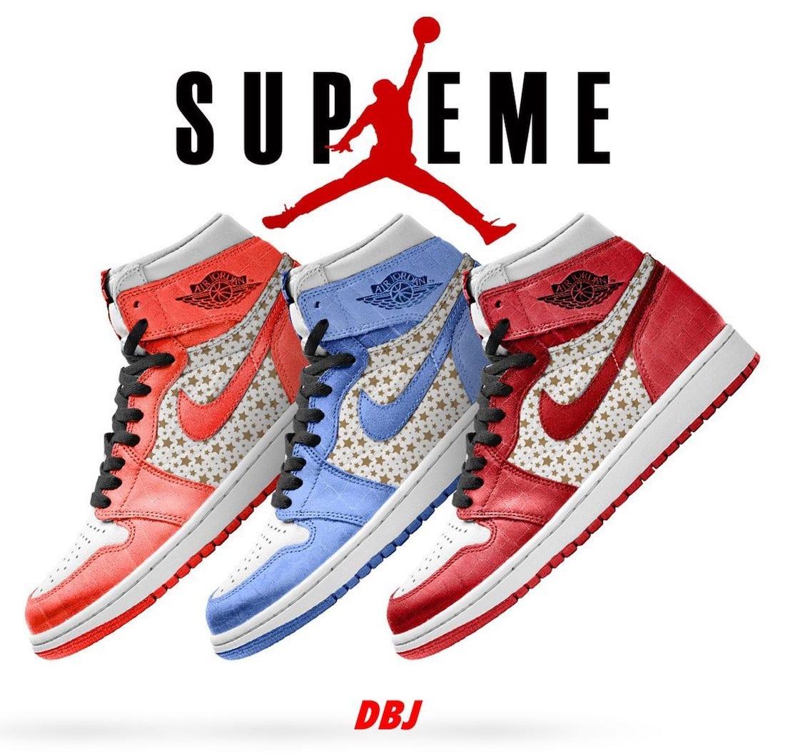 Supreme Air Jordan 1 Release Date Info