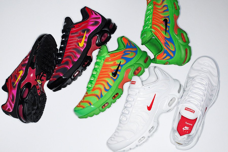Supreme Nike Air Max Plus Collection Release Date