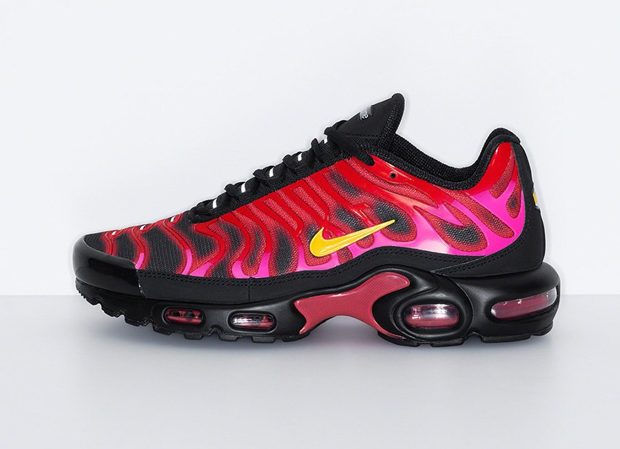 Supreme Nike Air Max Plus University Red Release Date