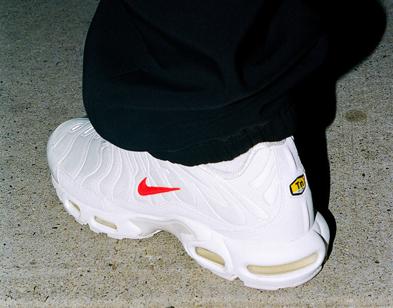 Supreme Nike Air Max Plus White Release Date