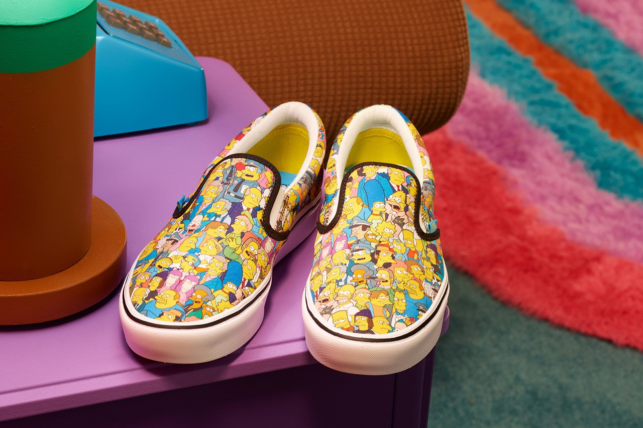 The Simpsons Vans Release Date Info