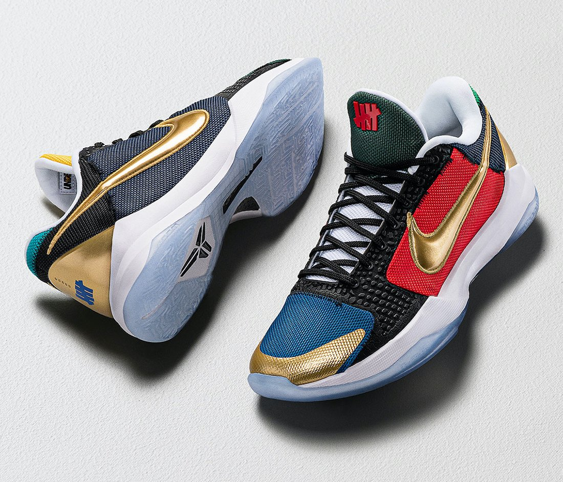 Undefeated Nike Kobe 5 Protro Double Digits What If Pack CZ6499-900 Release Date
