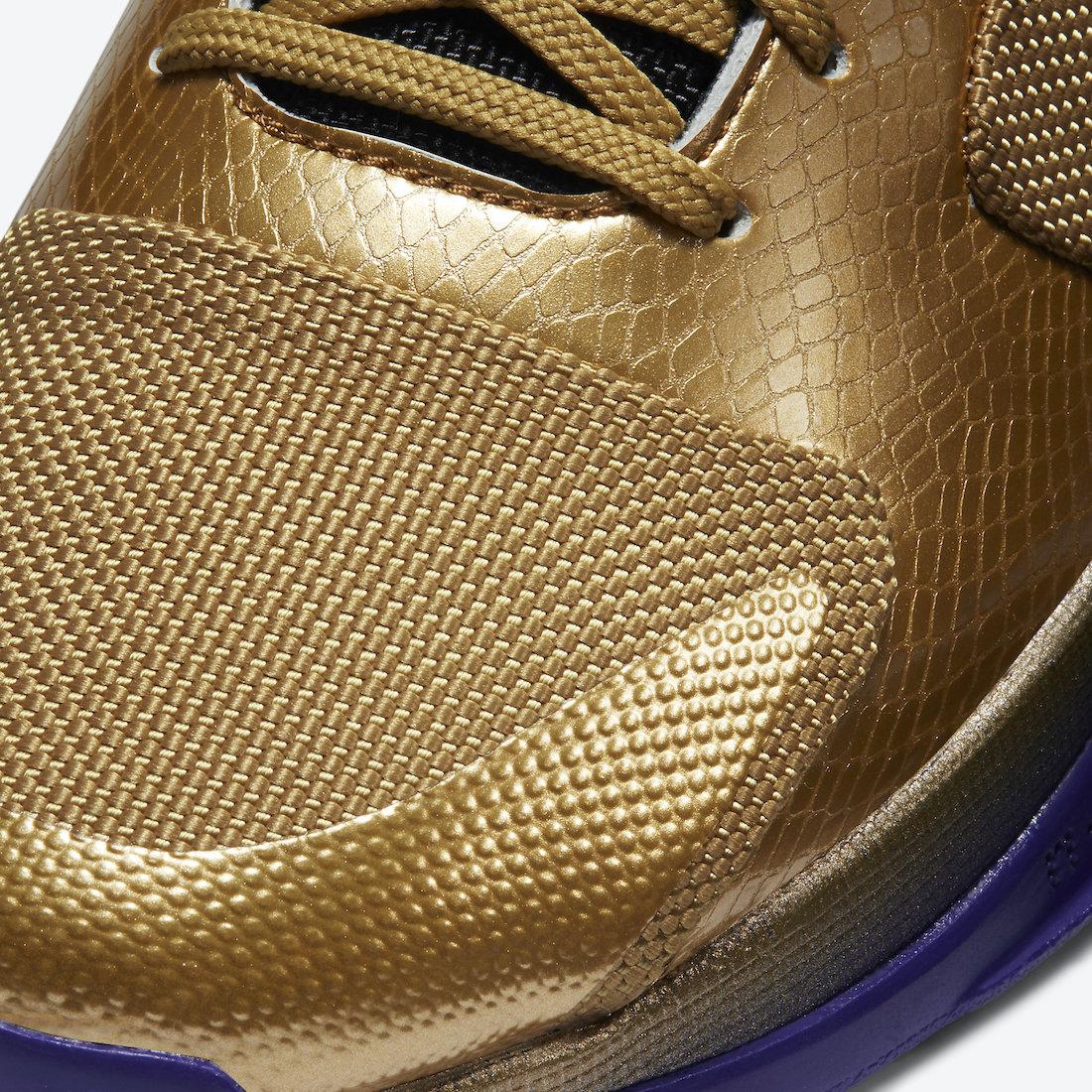 Undefeated Nike Kobe 5 Protro Hall of Fame DA6809-700 Release Date