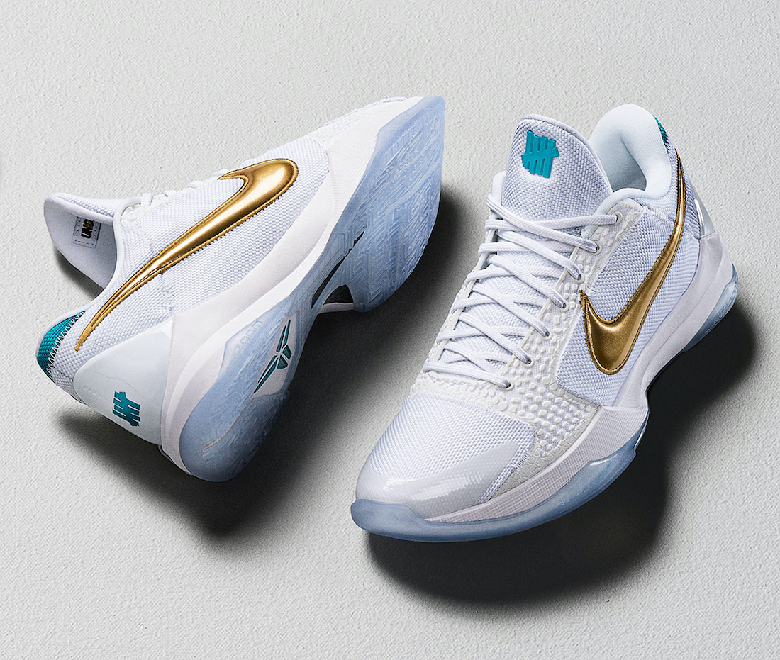 Undefeated Nike Kobe 5 Protro U13 What If Pack DB4796-100 Release Date
