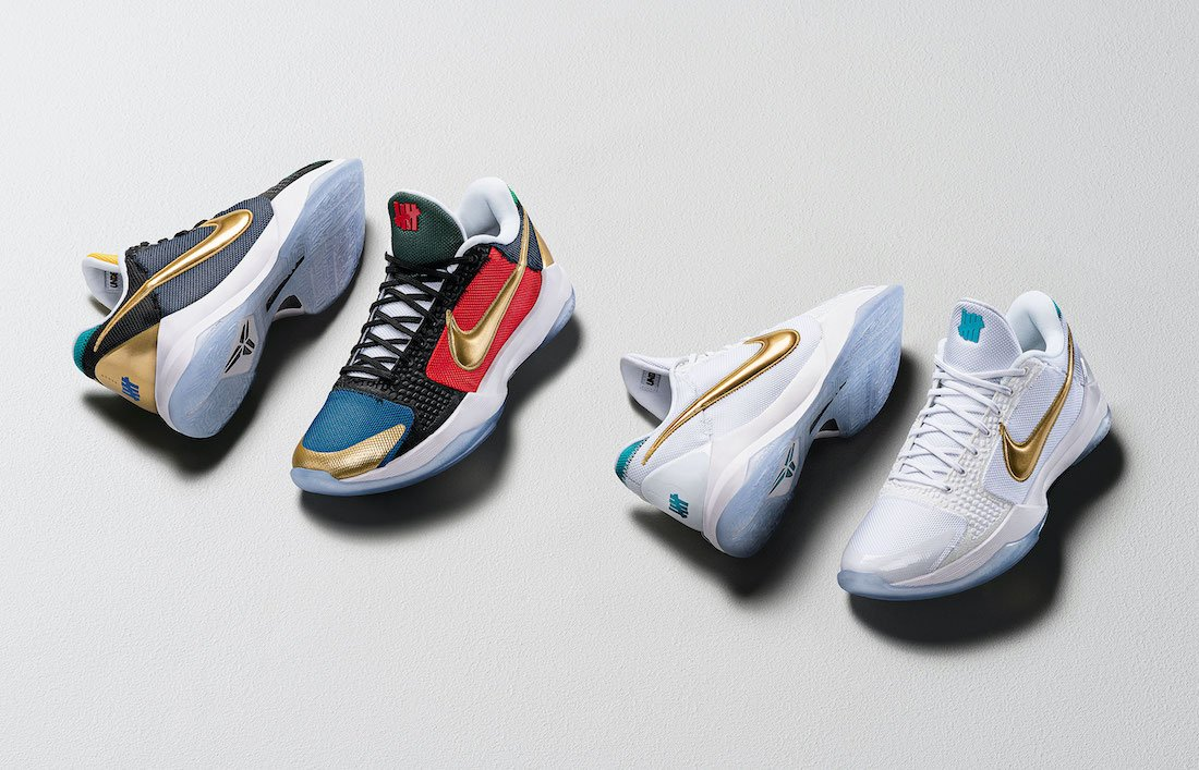 Undefeated Nike Kobe 5 Protro What If Pack