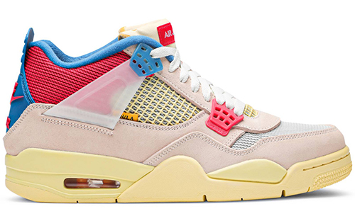 Union Air Jordan 4 Guava Ice Release Date