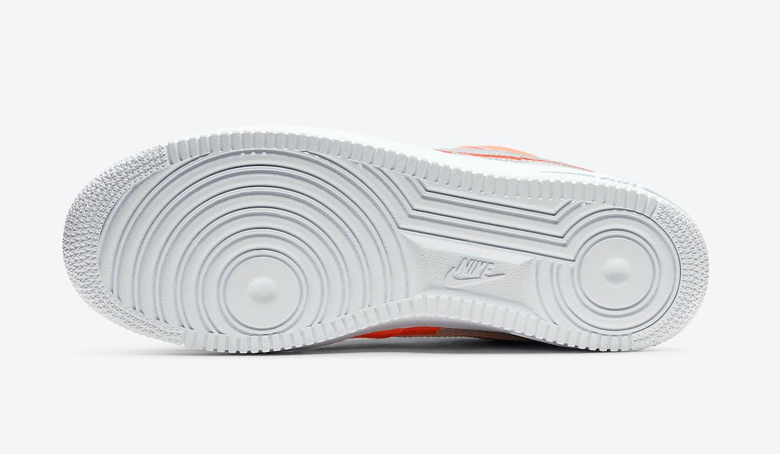 3M Nike Air Force 1 Low Total Orange CT2299-800 Release Date Info