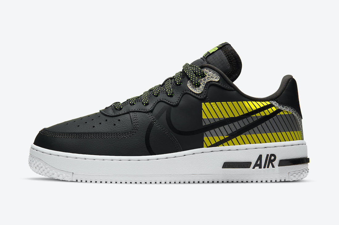 3M Nike Air Force 1 React D/MS/X CT3316-003 Release Date Info
