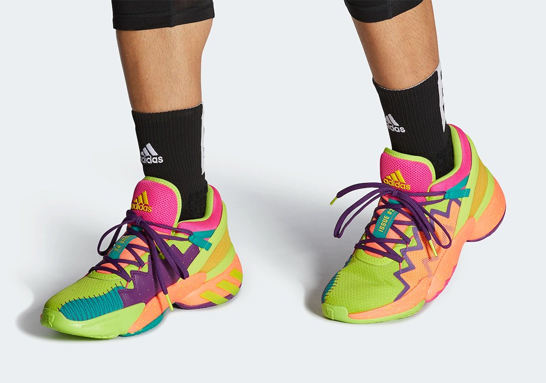 adidas DON Issue 2 Multi-Color FX4488 Release Date Info