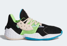 adidas Harden Vol. 4 Black Signal Green FY0874 Release Date Info
