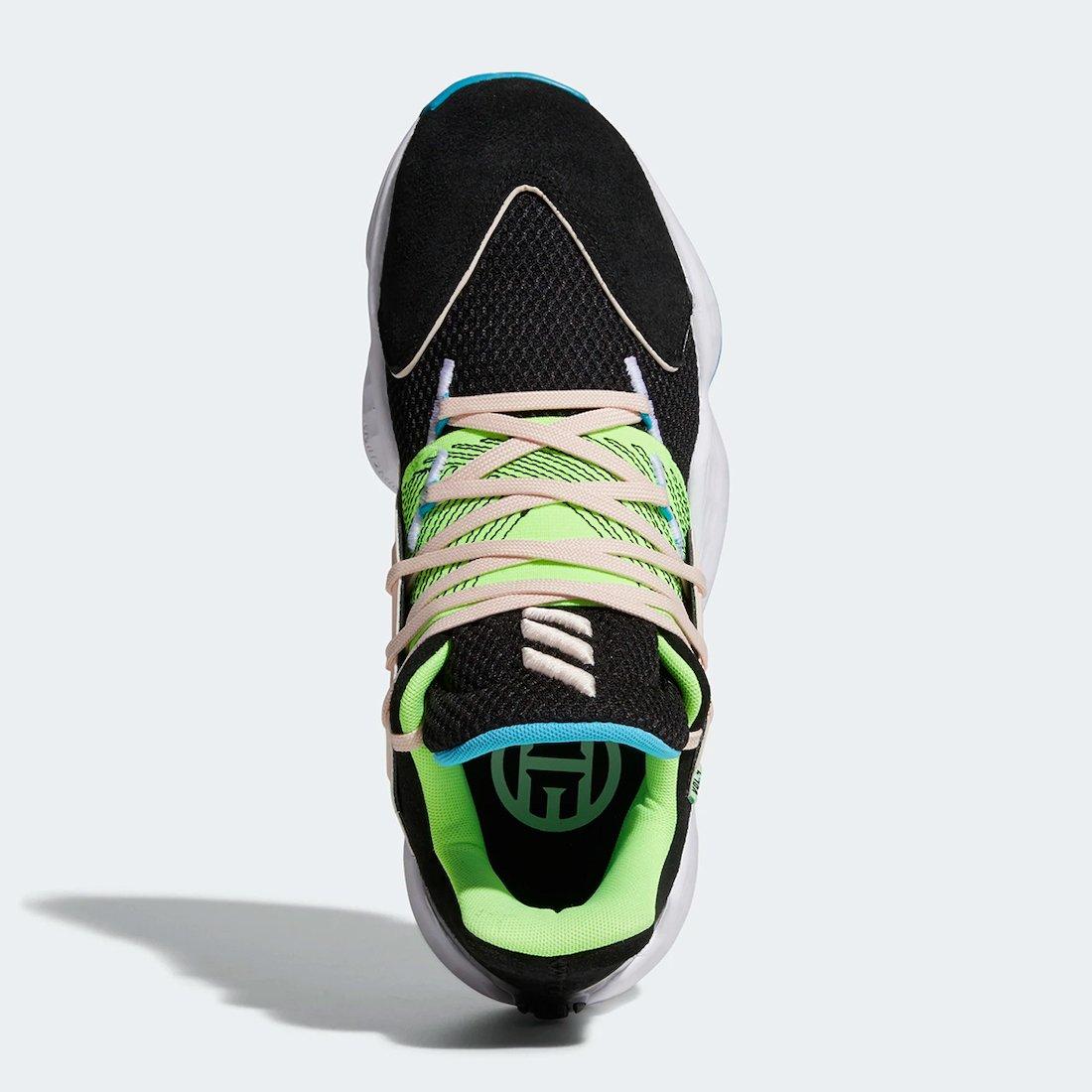 adidas Harden Vol. 4 Black Signal Green FY0874 Release Date Info