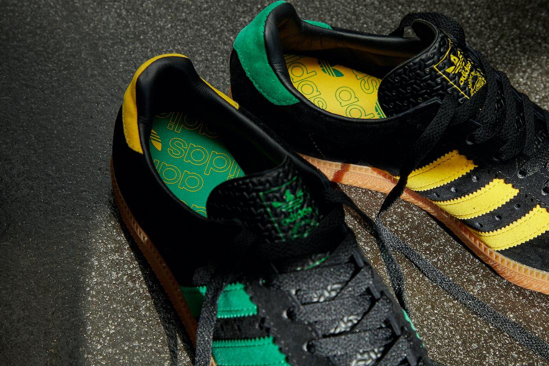 adidas Padiham Black Green Yellow Gum FV1198 Release Date Info