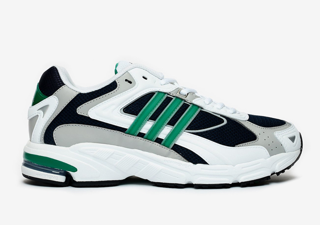 adidas Response CL White Black Green FW4440 Release Date Info