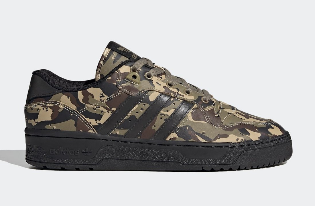 adidas Rivalry Low Camo FZ0134 Release Date Info