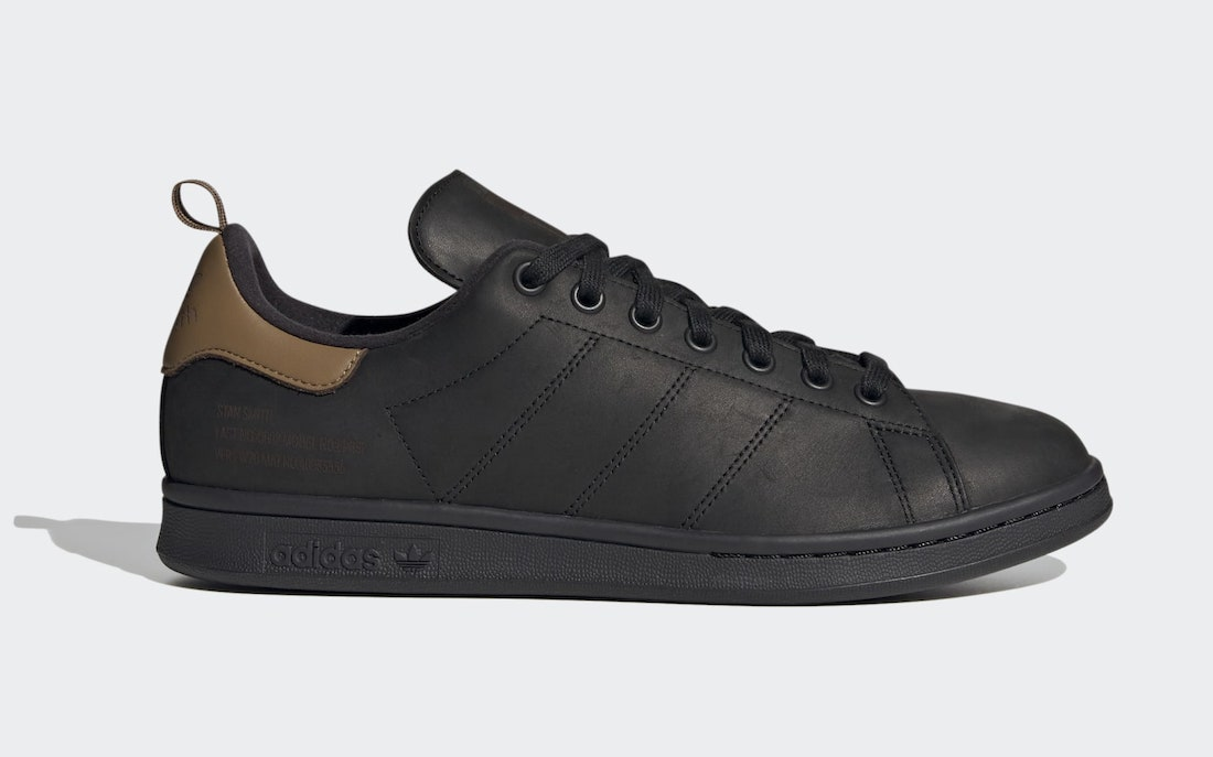 adidas Stan Smith Black FZ3477 Release Date Info
