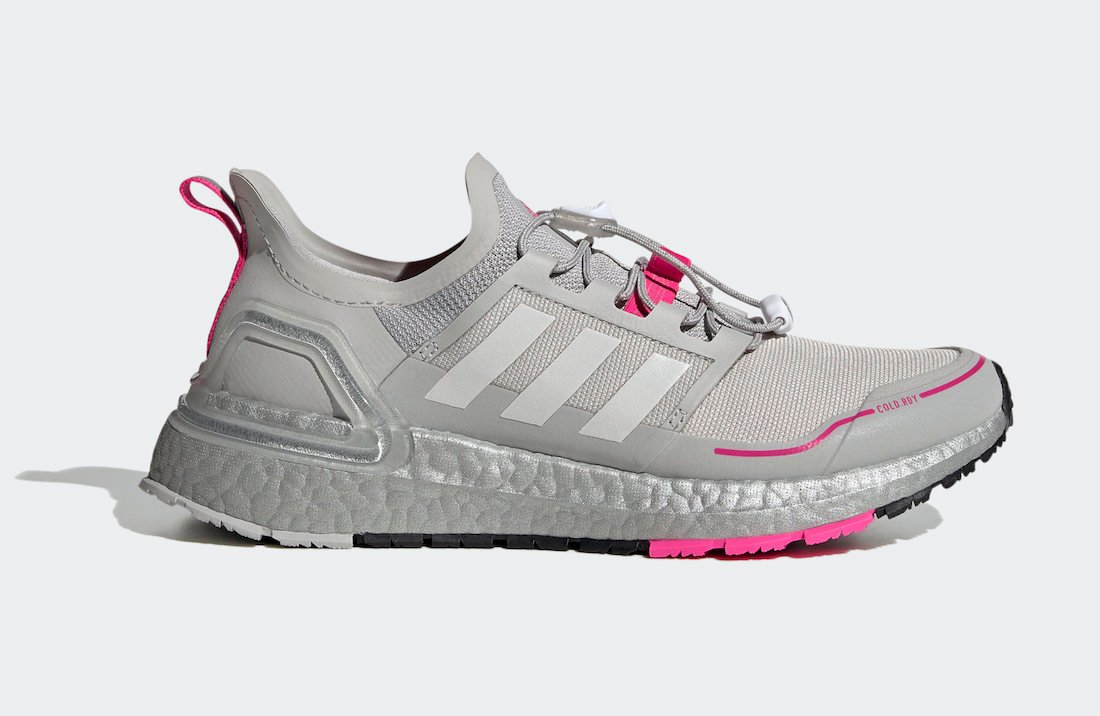 adidas Ultra Boost WINTER.RDY Grey Shock Pink EG9804 Release Date Info