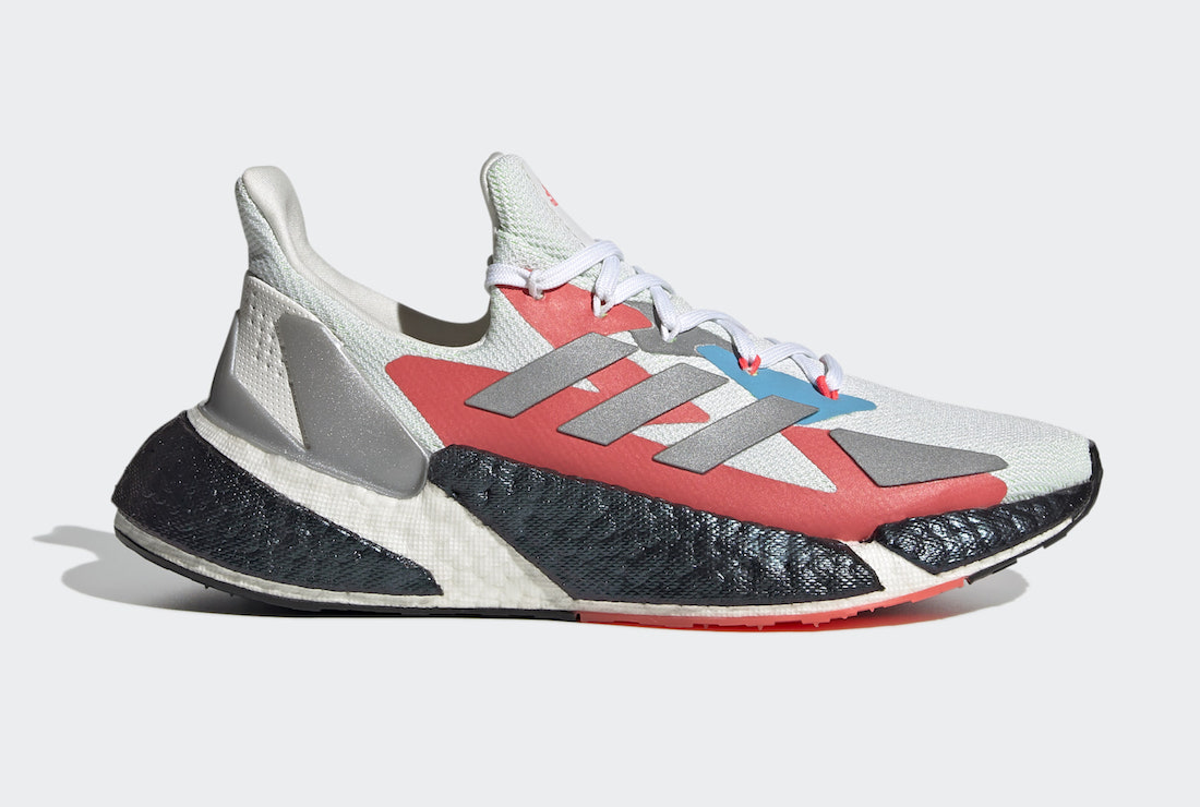adidas X9000L4 White Silver Green FW8406 Release Date Info