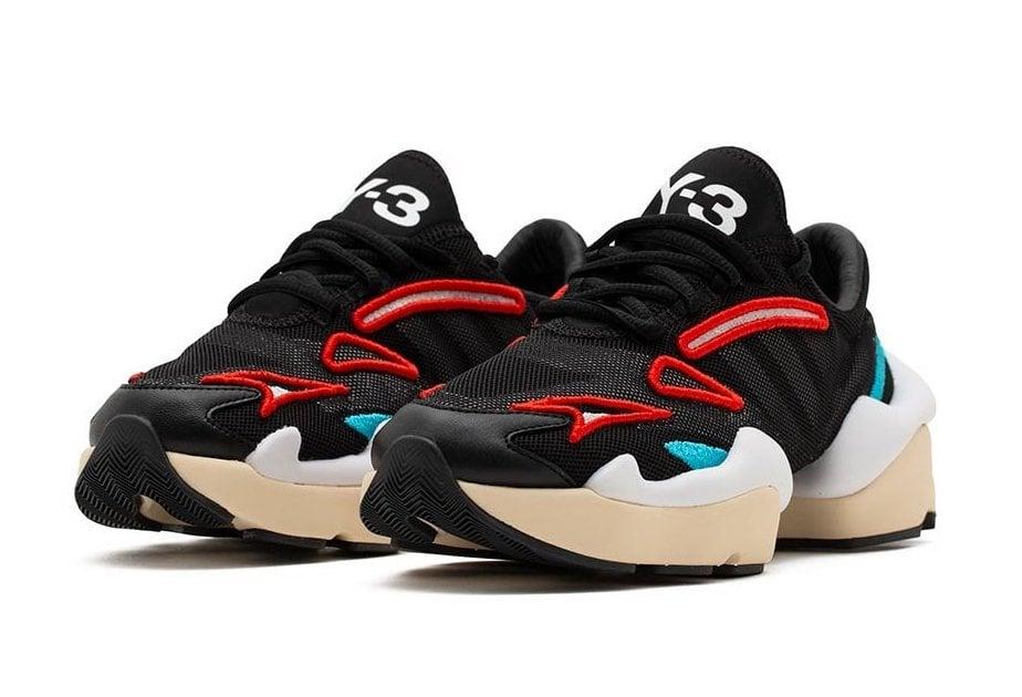 adidas Y-3 Ren Black White Red FX7256 Release Date Info