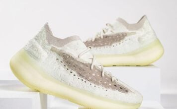 adidas Yeezy Boost 380 Calcite Glow Release Info