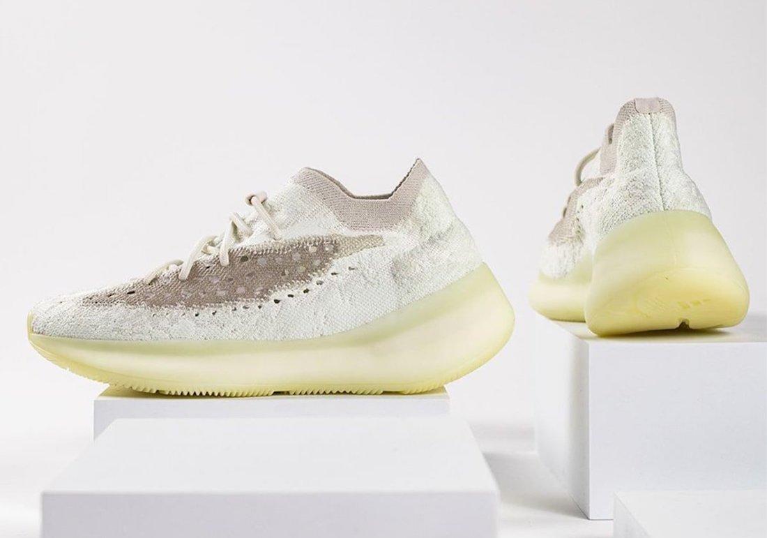 adidas Yeezy Boost 380 Calcite Glow Release Info