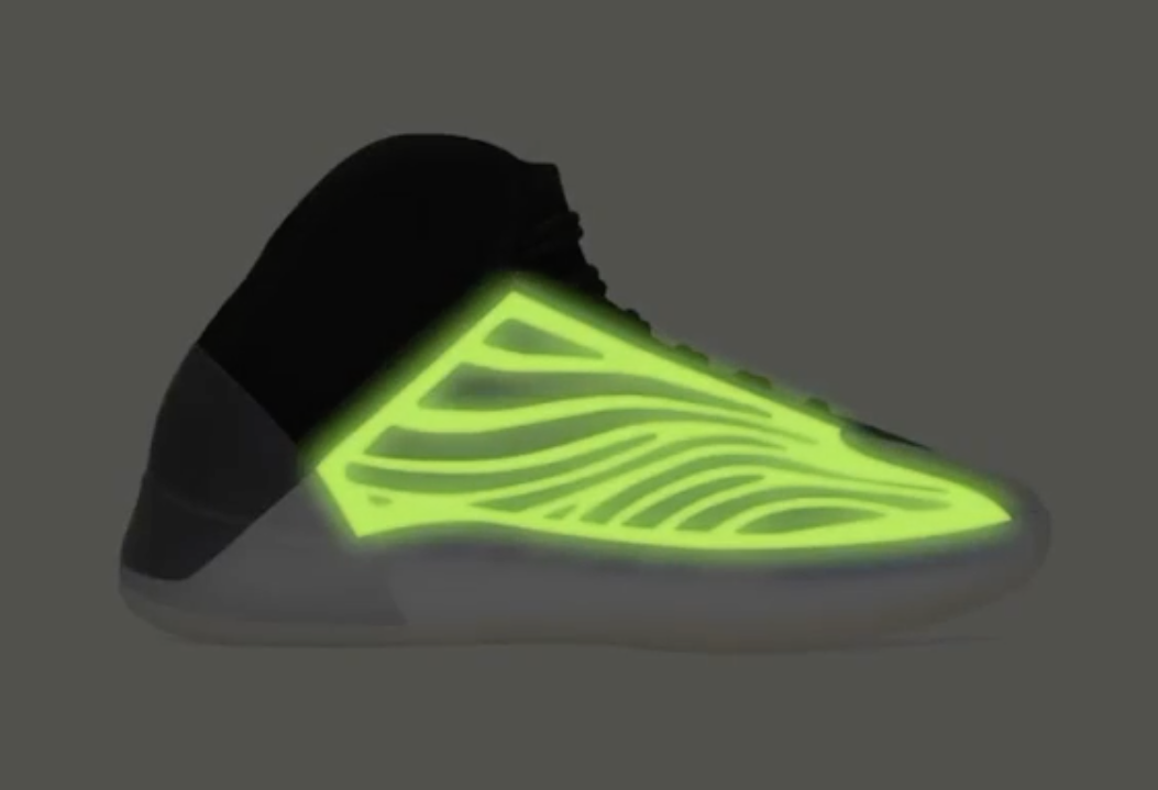 adidas Yeezy Quantum Frozen Blue Glow in the Dark Release Date Info