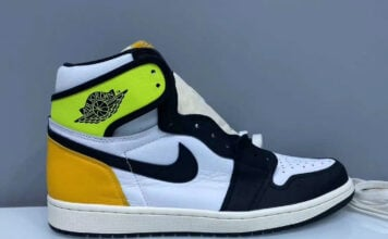 Air Jordan 1 High OG Volt Gold 555088-118 Release Date