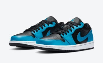 Air Jordan 1 Low Laser Blue 553558-410 Release Date Info