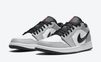 Air Jordan 1 Low Light Smoke Grey 553558-030 Release Date Info