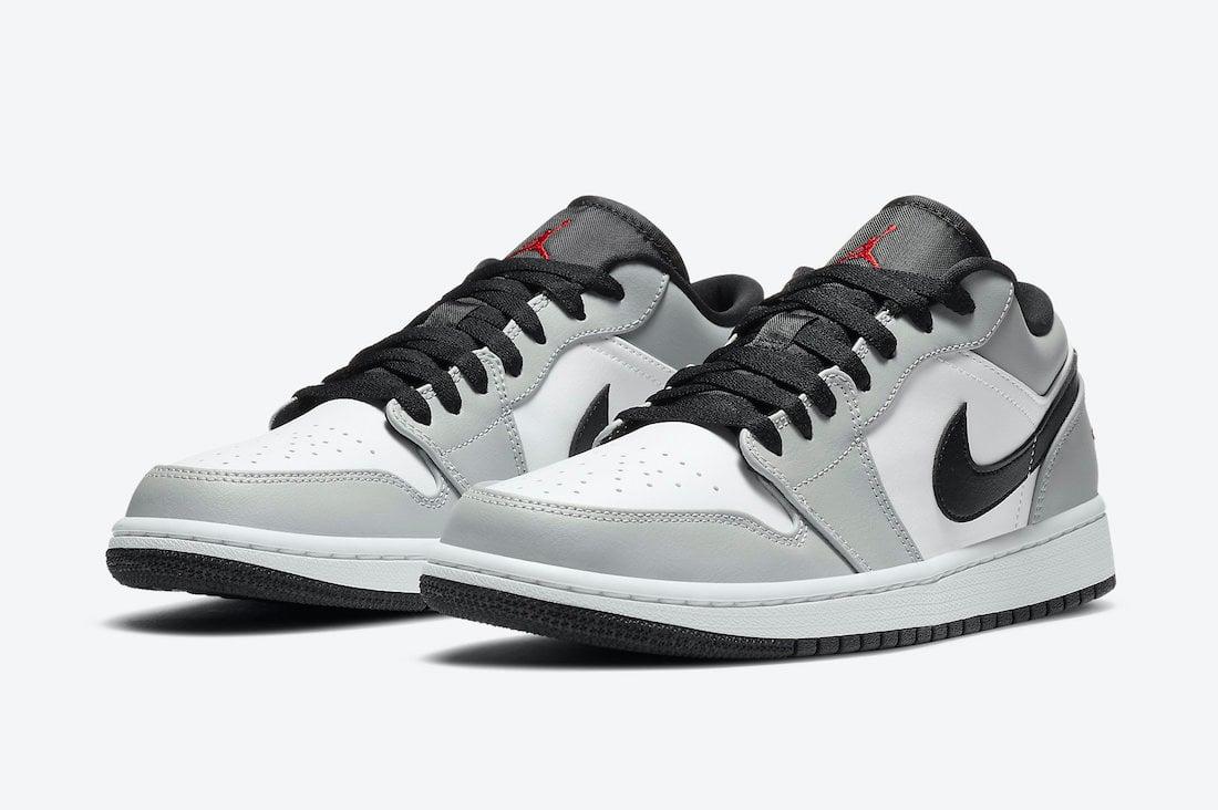 Air Jordan 1 Low Light Smoke Grey 553558-030 Release Date Info