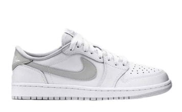 Air Jordan 1 Low OG White Neutral Grey Particle Grey CZ0790-100 2021 Release Date Info