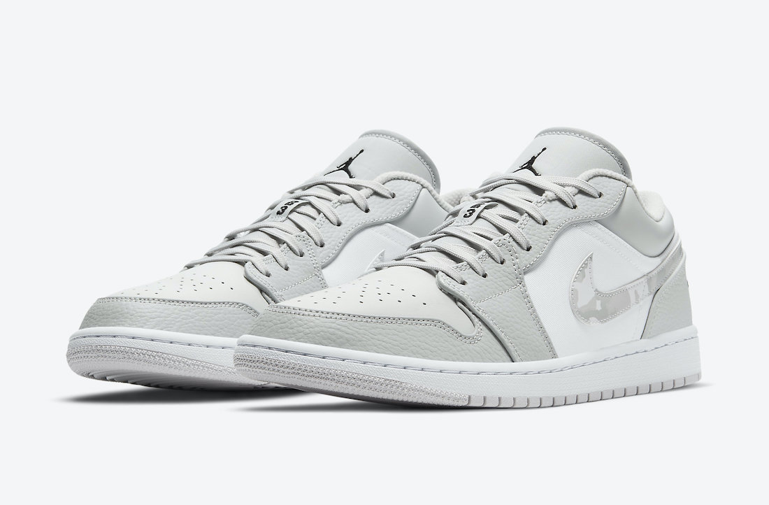Air Jordan 1 Low White Camo DC9036-100 Release Date Info