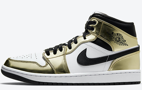 Air Jordan 1 Mid Metallic Gold 2020 Release Date