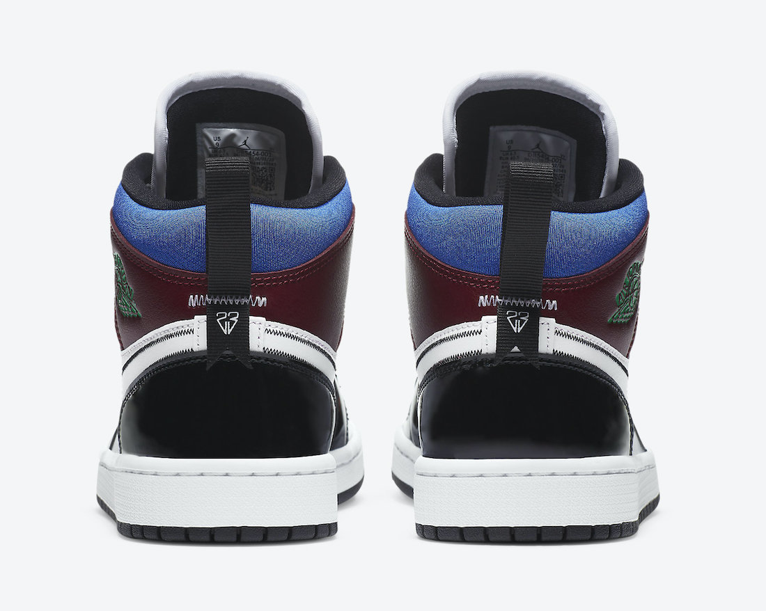 Air Jordan 1 Mid SE Multi-Color DB5454-001 Release Date Info