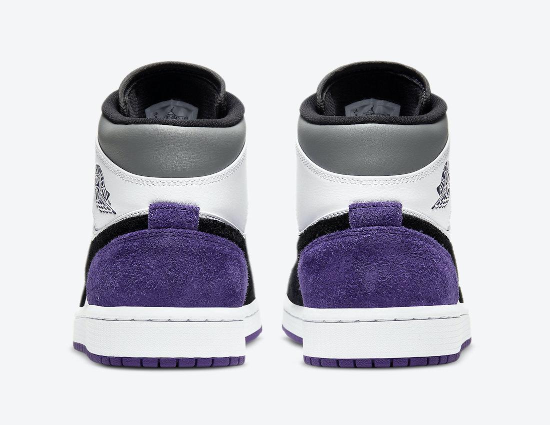 Air Jordan 1 Mid SE Purple 852542-105 Release Date Info