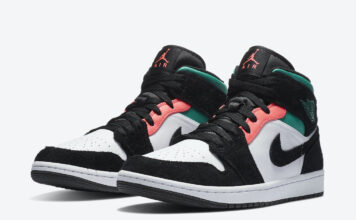 Air Jordan 1 Mid South Beach 852542-116 Release Date Info