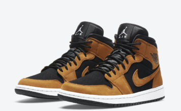 Air Jordan 1 Mid Wheat DB5453-700 Release Date Info