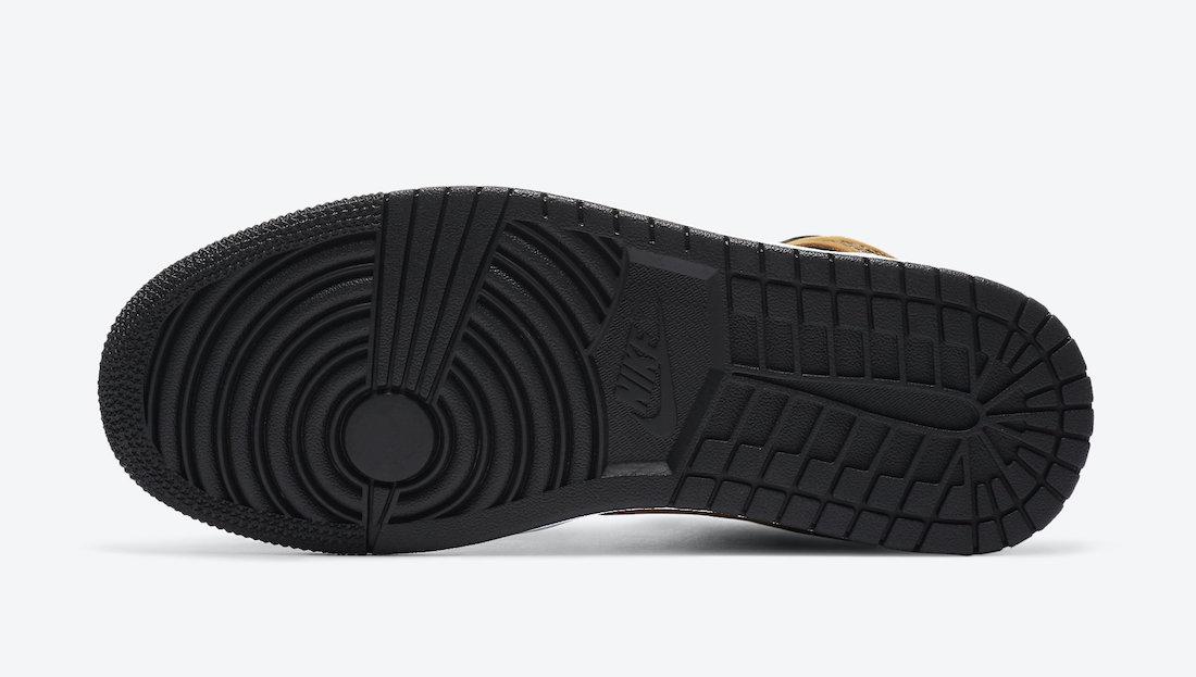Air Jordan 1 Mid Wheat DB5453-700 Release Date Info