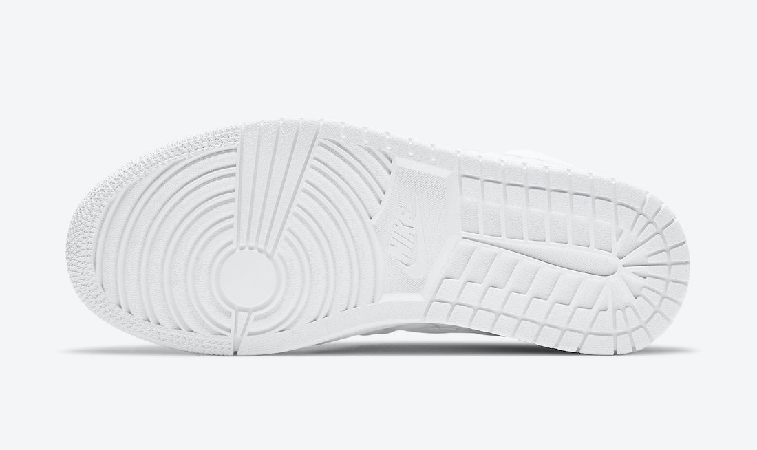 Air Jordan 1 Mid White Quilted DB6078-100 Release Date Info
